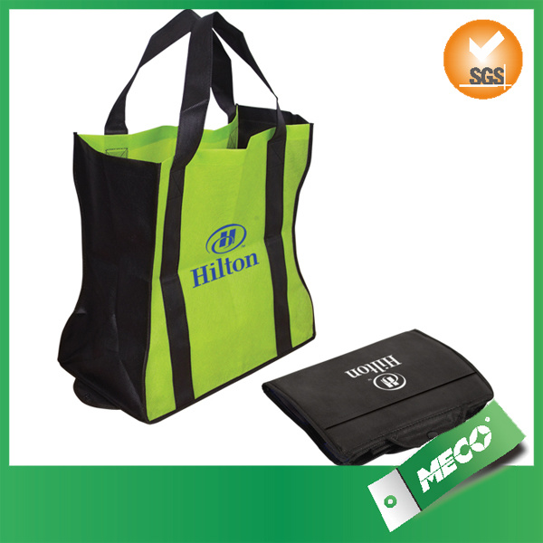 Promotional Printed Non Woven Shopping Folding Bag (MECO119)