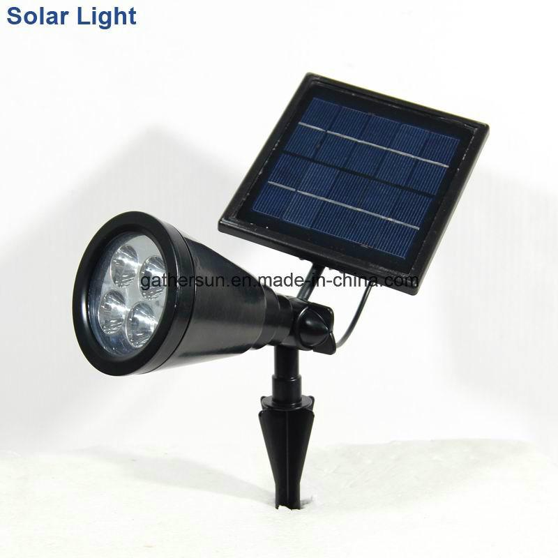 Allumium Solar Light Spotlight Security Light with Colar Changing