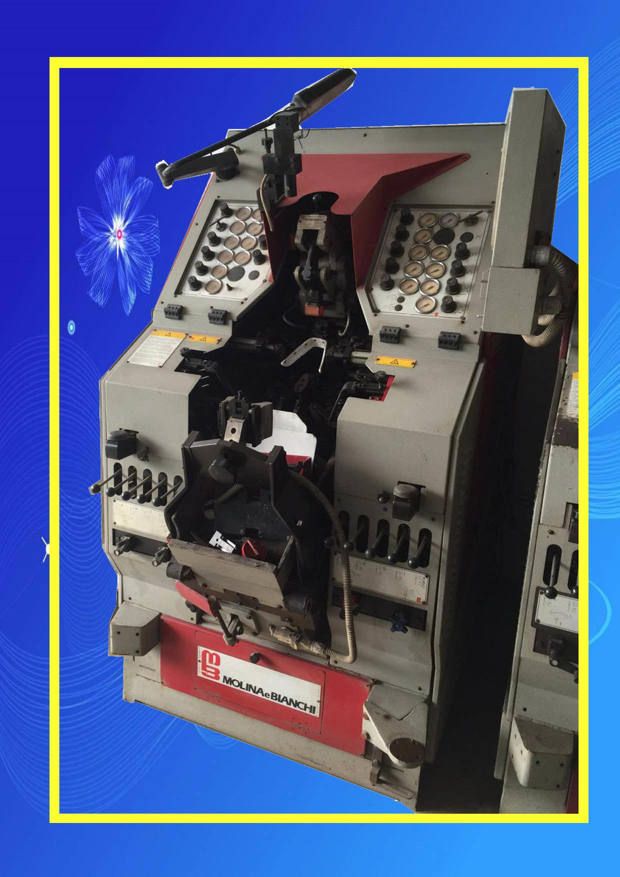 Used Italy Molina E Bianchi Automatic Toe Lasting Machine