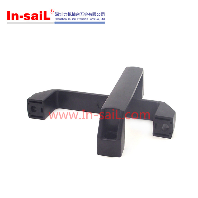 Cabinet Plastic Square Handles with Metal Insert Nut
