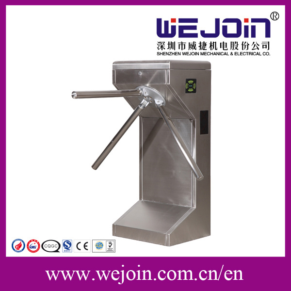 Full-Automatic Tripod Turnstile Passage, Turnstile, Fingerprint Time Attendance, for Access Control System with High Security