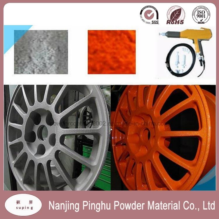 Anti-Corrosive Thermosetting Powder Coating for Car Wheels