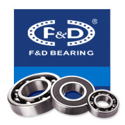High Precision Fuda F&D Bearing Chrome Steel Deep Groove Ball Bearing 6000 Series 6200 Series 6300 Series for Motorcycle Parts
