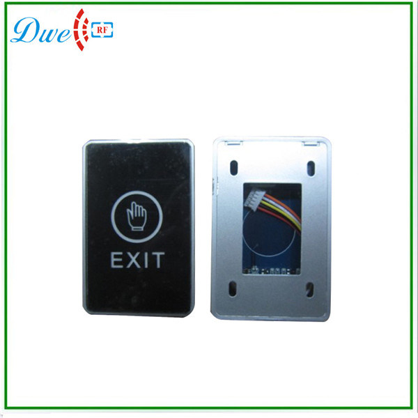 12V Touch Type Infrared Door Exit Button Switch with No Nc COM Interface