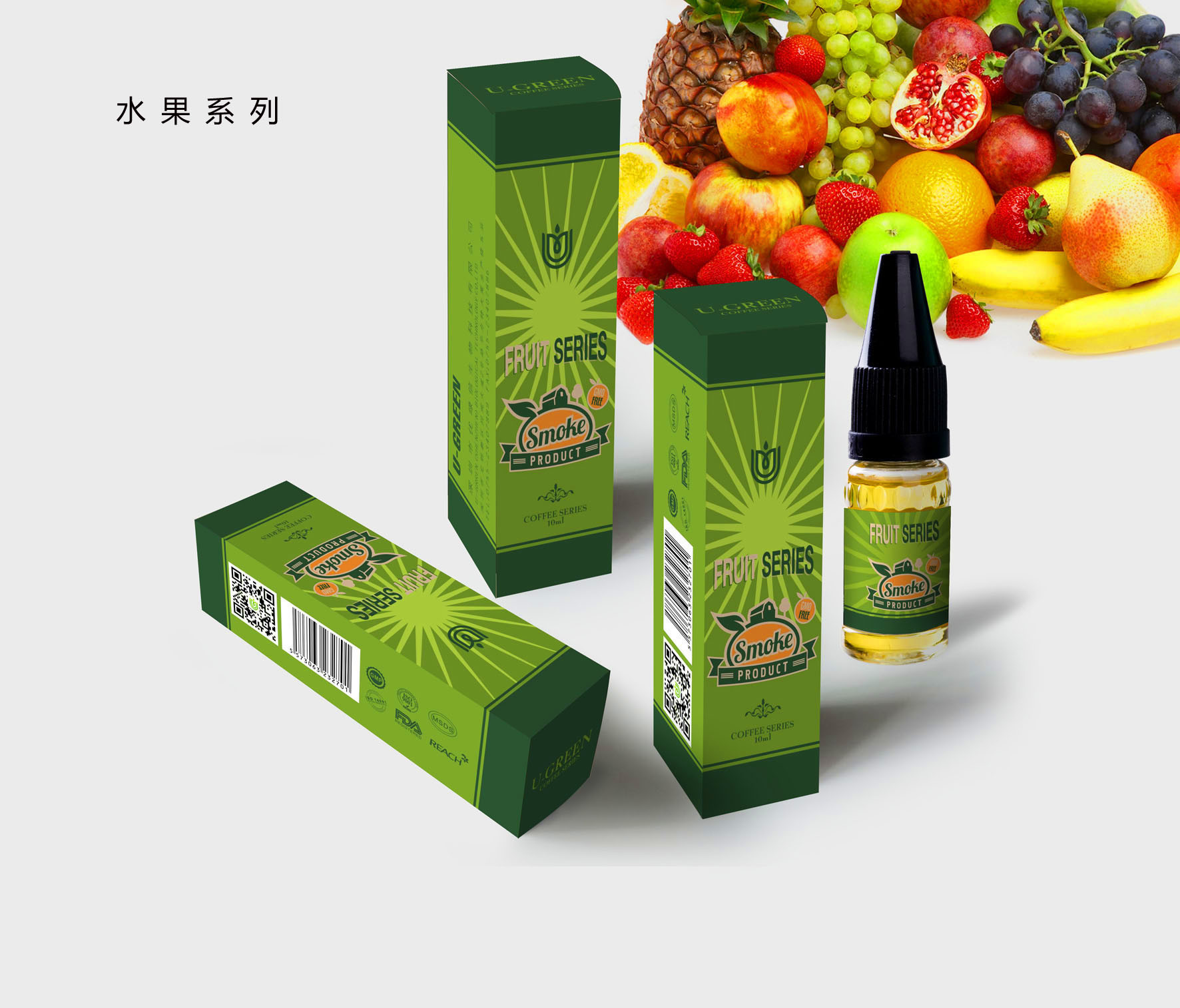 GMP Factory Premium E Liquid with High Vg and Organic Aroma