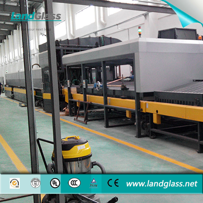 Landglass Double Curved Glass Toughened Machine