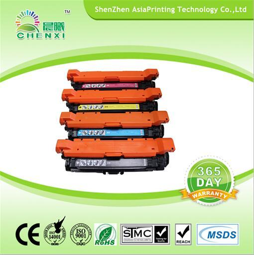 Laser Printer Toner Cartridge CE250 - CE253 Color Toner for HP 504A
