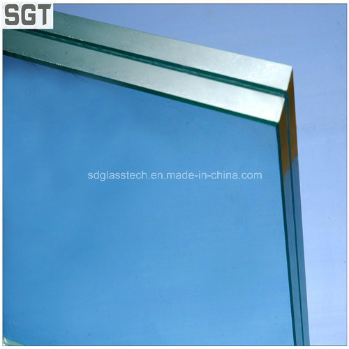 5mm/7mm/9mm Clear Toughened Laminated Glass for Building