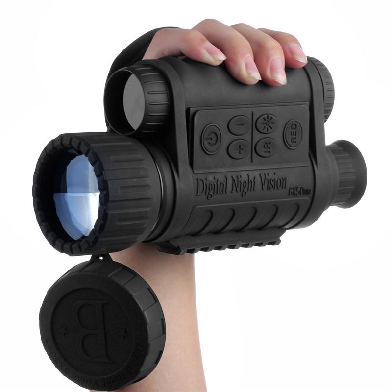 6X50 Digital Night Vision Monocular 350m Range with 1.5′′ TFT LCD 500MP Ipx4 Waterproof