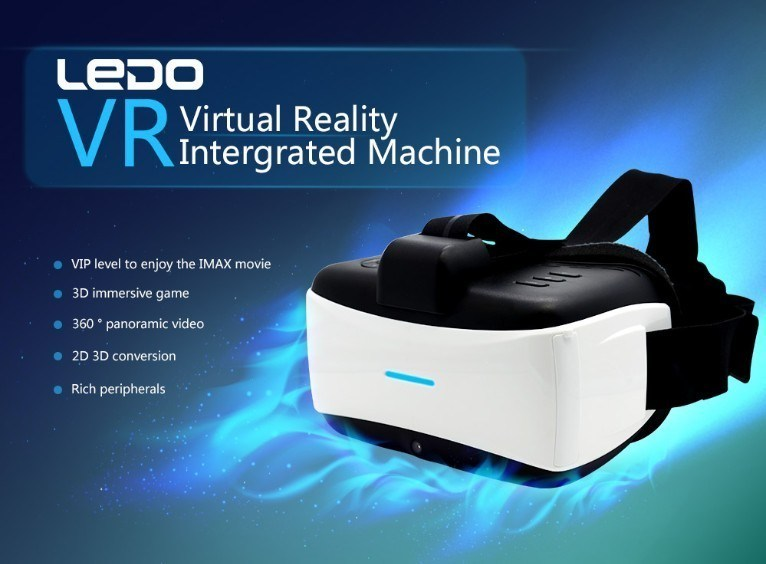 All-in-One HMD 3D Glasses Inch Full-HD Screen Bluetooth