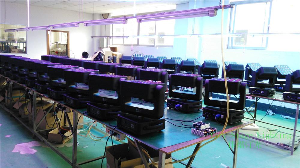 Epsilon PRO Flexcube 25 5X5 10W CREE RGBW LED Beam/Wash Moving Head Matrix Panel Light
