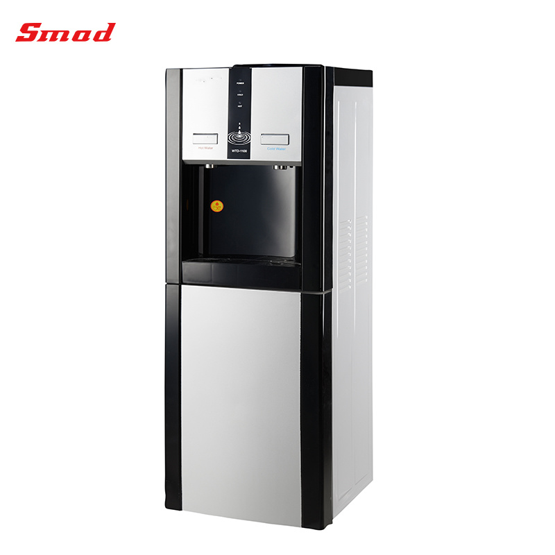 Compressor Cooling Stand Water Dispenser with Hot and Cold