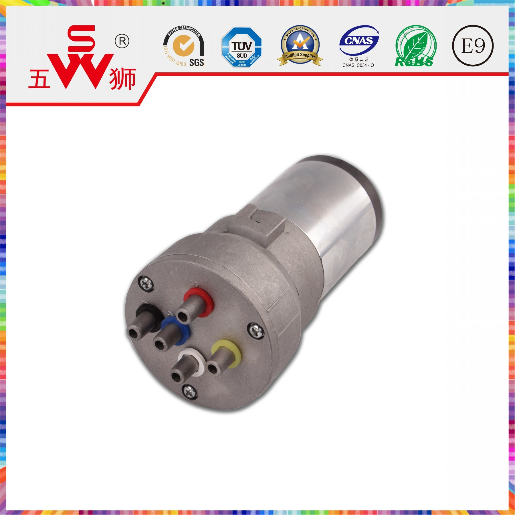 165mm Electric Horn Motor for Car Accessories