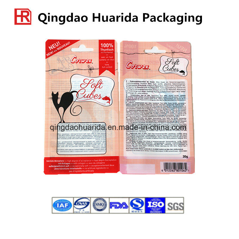 Colourful Printed Packaging Bag for Cat Food