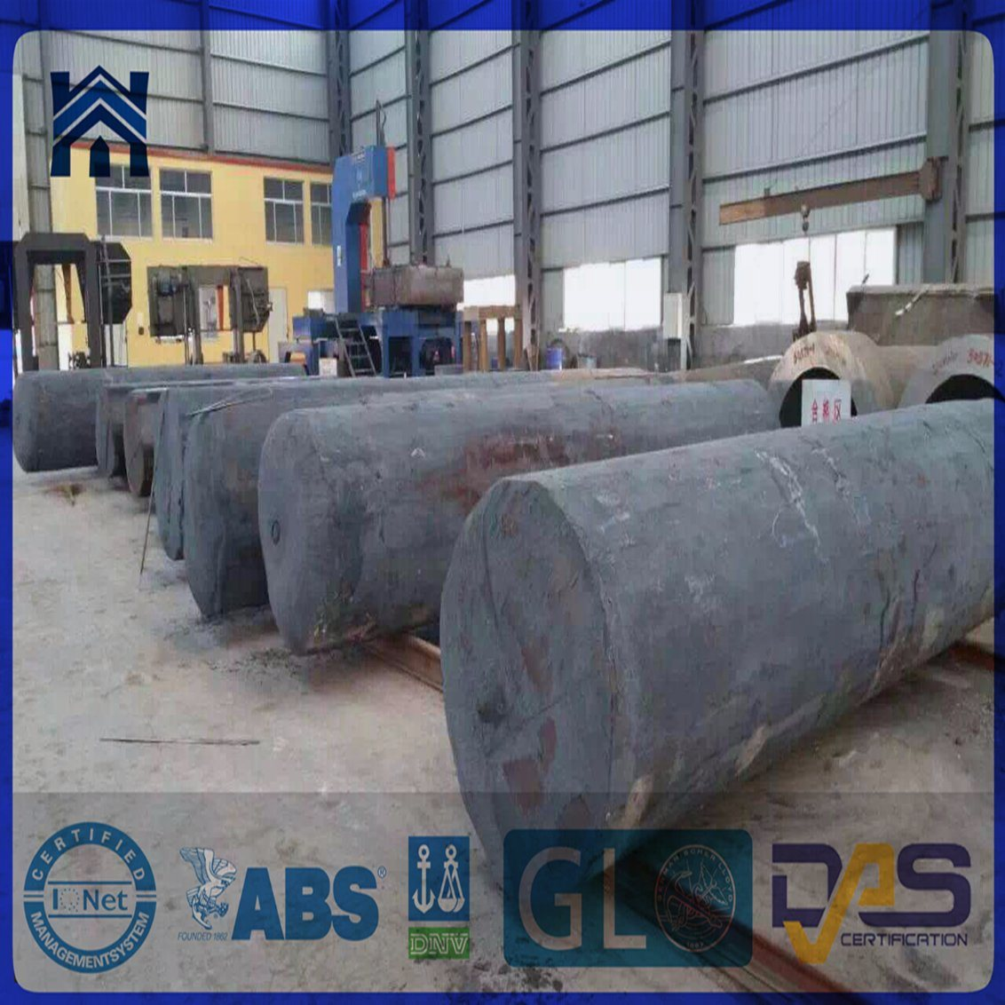 Forged Round Bar with Rough Turned 42CrMo4+Q/T