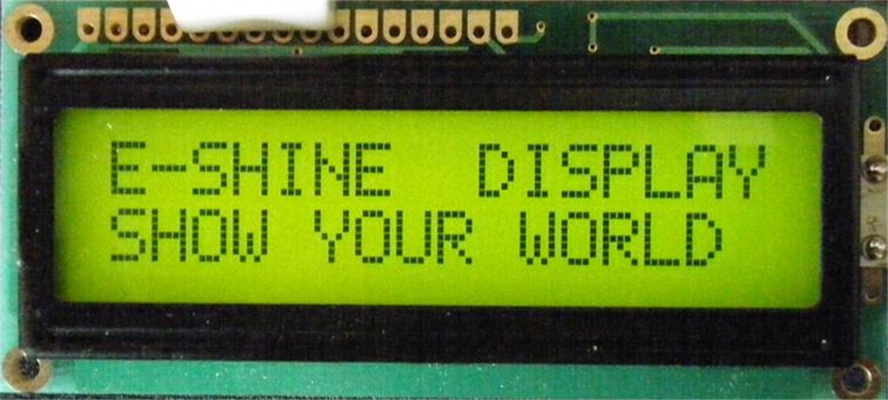 LCD Modules Stn LCD Character COB EC1602A0
