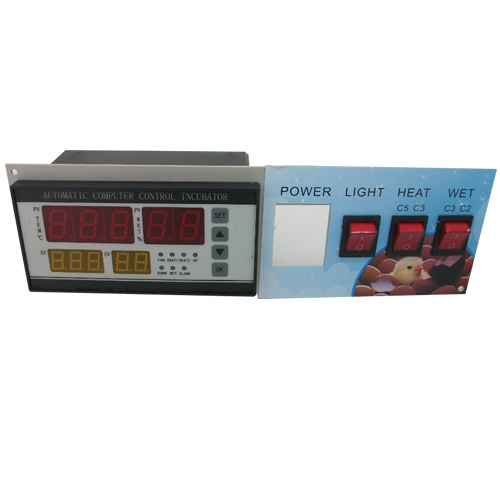 XM-18 Four Screen Four Display Automatic Incubator Thermostat