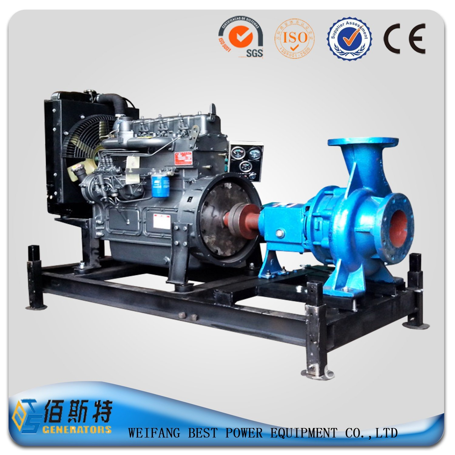 China Factory Generator Diesel Driven Pump Set for Sale China