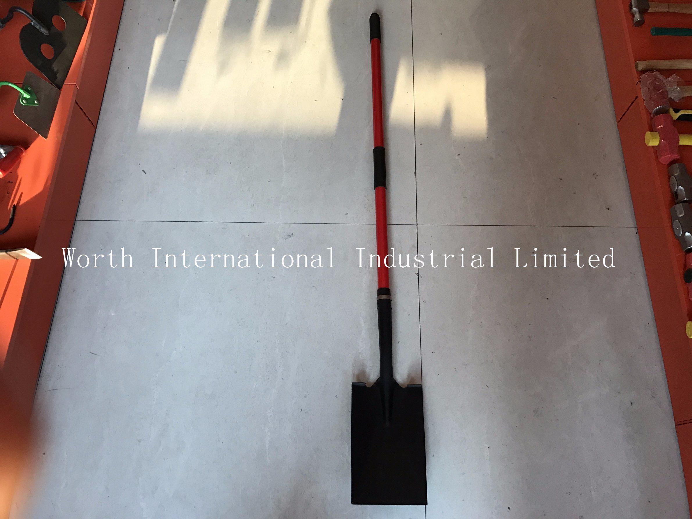 Long Fiberglass Handle Spade