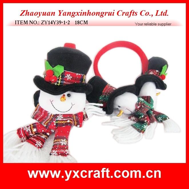 Christmas Decoration (ZY14Y39-1-2 18CM) Christmas Snowman Headband Party Items
