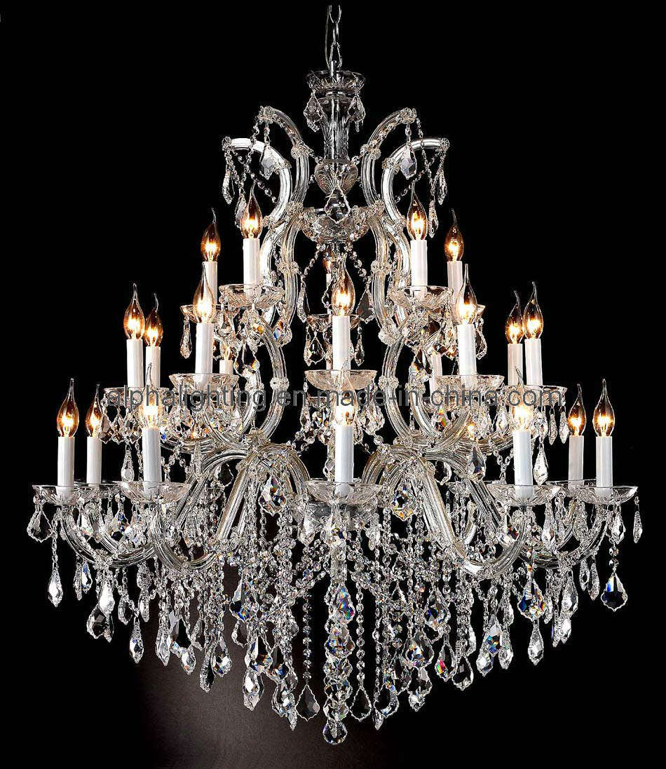 China Beauty Modern Candle Chandelier Crystal Lamp Am2130: crystal candle chandelier