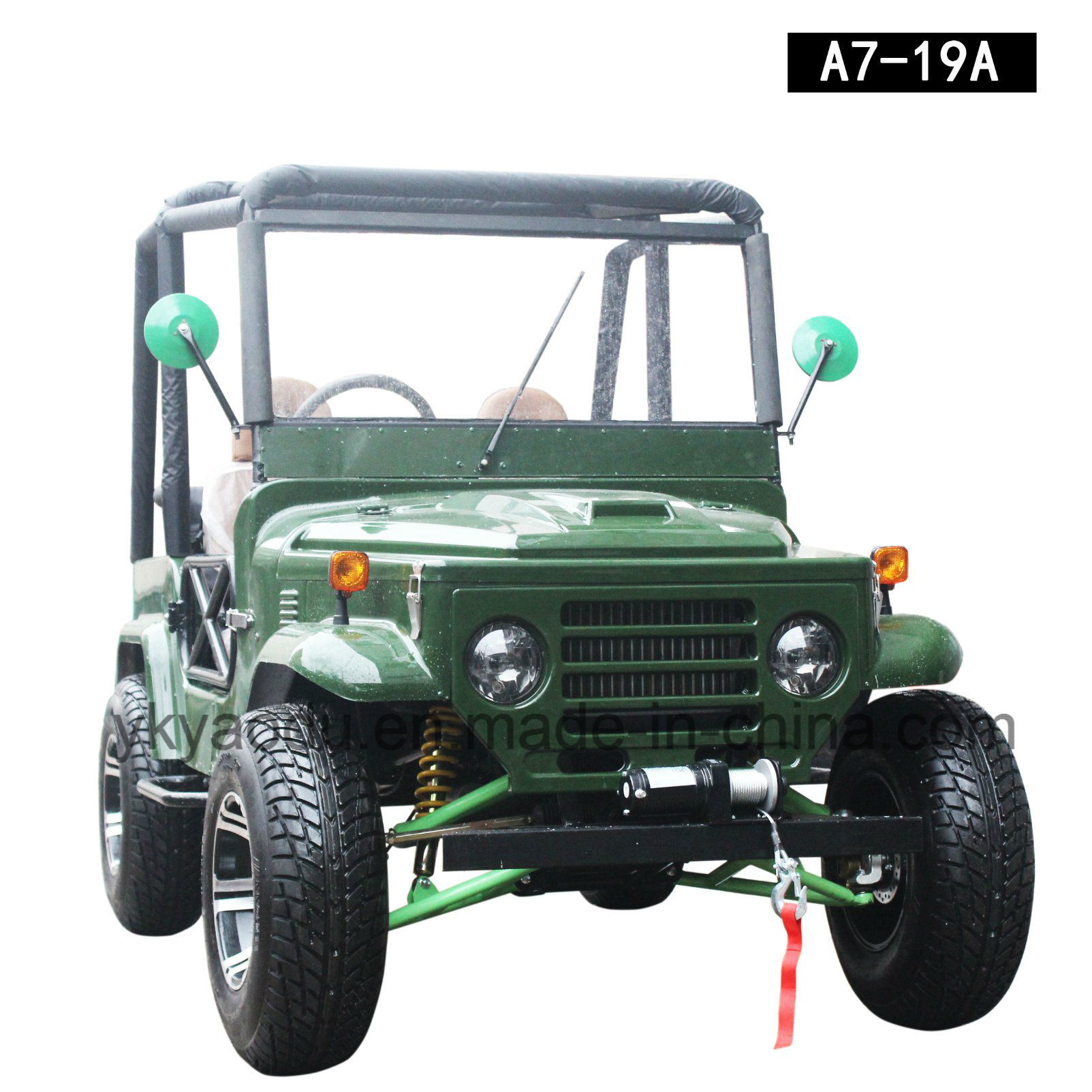 150cc/200cc/300cc Quad ATV, China Willys Jeep for Kids or Adult