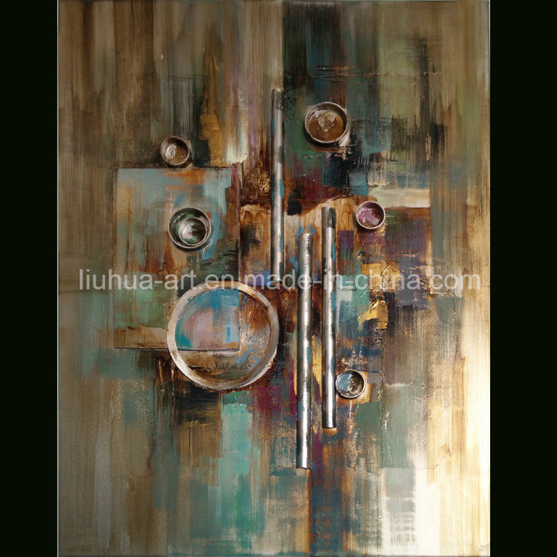 Modern Handmade Abstract Antique Wall Art (LH-135000)