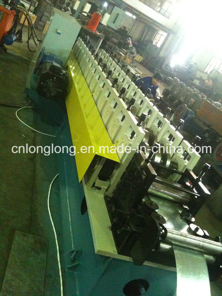 High Accuracy and High Speed Automatic Roll Forming Machine for Rain Gutter