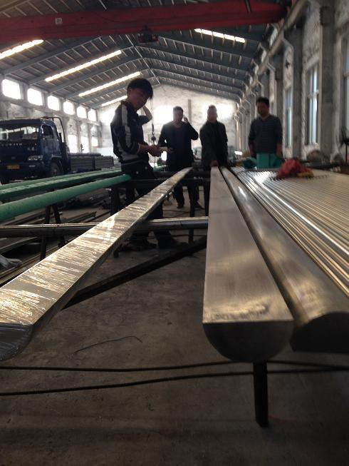 Stainless Steel Half Round Bar AISI316L