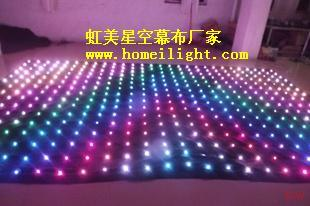 P18cm Customized Backdrop LED Display with Effect Light