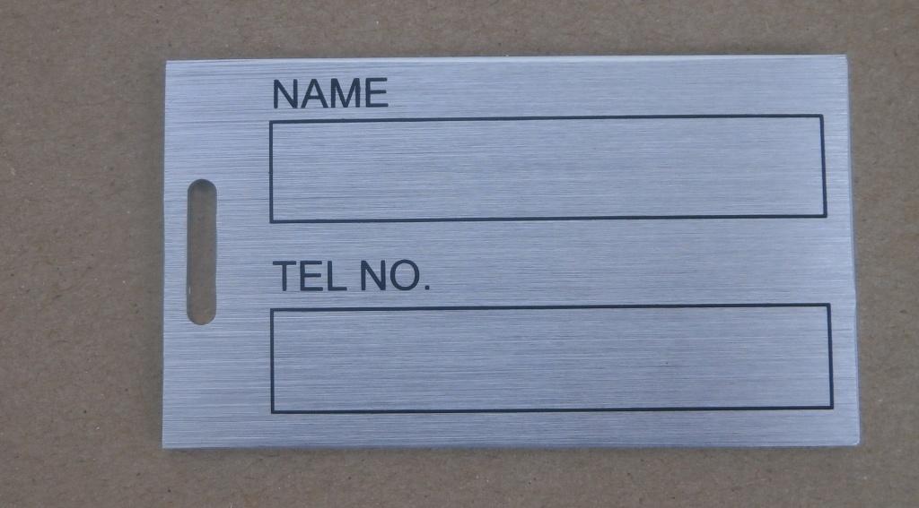Matel Name Tag, Golf Accessory (AG-15)