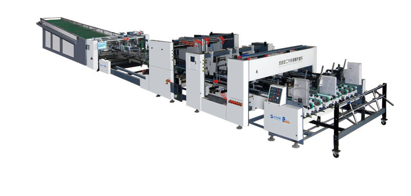 Folder Gluer for Two-Sheets Joint Combination