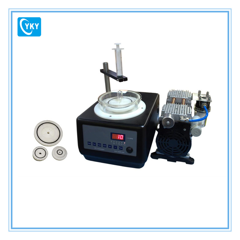 Compact Wafer Spin Coater with 3 Sets of Chuncks