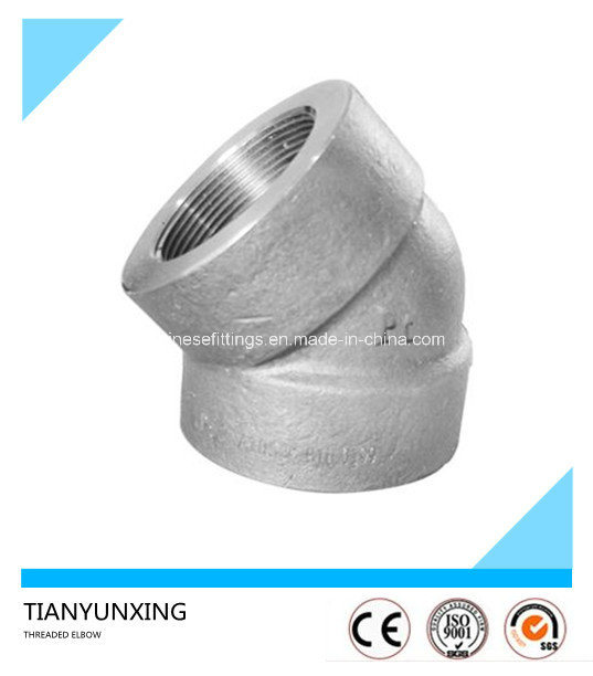 ASME B16.11 Steel Forged Sw/Threaded Screw Elbow