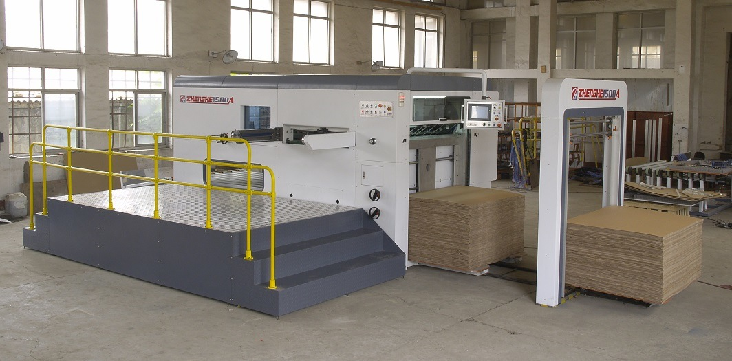 Semi-Automatic Flatbed Die Cutting Machine (1500A)