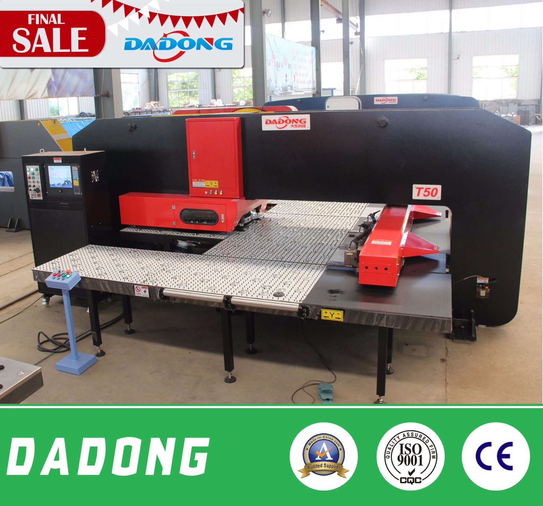 T50 CNC Turret Punching Machine for Heavy Duty Punching Machine