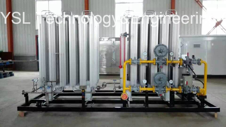 Industrial Gas Skid-Mounted Device
