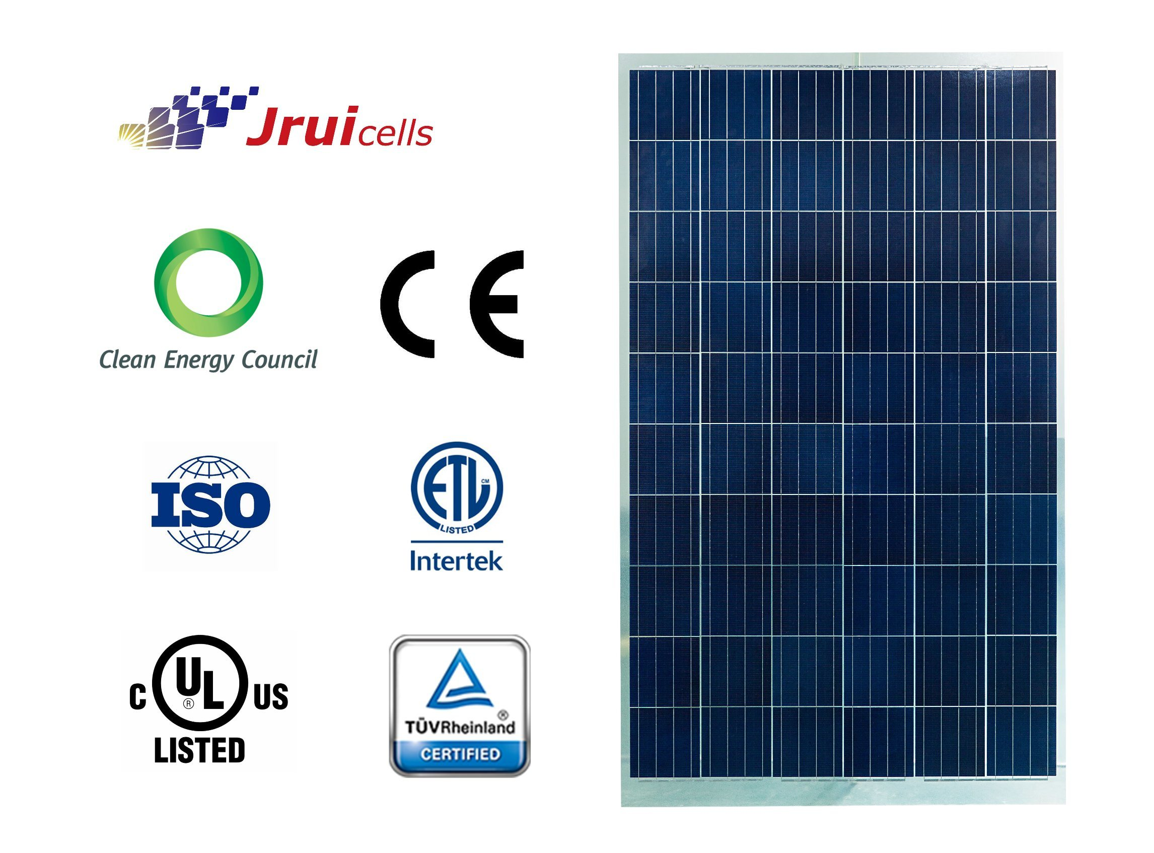 30 Years Warranty Guarantee 270W Poly Double Glass Solar Module