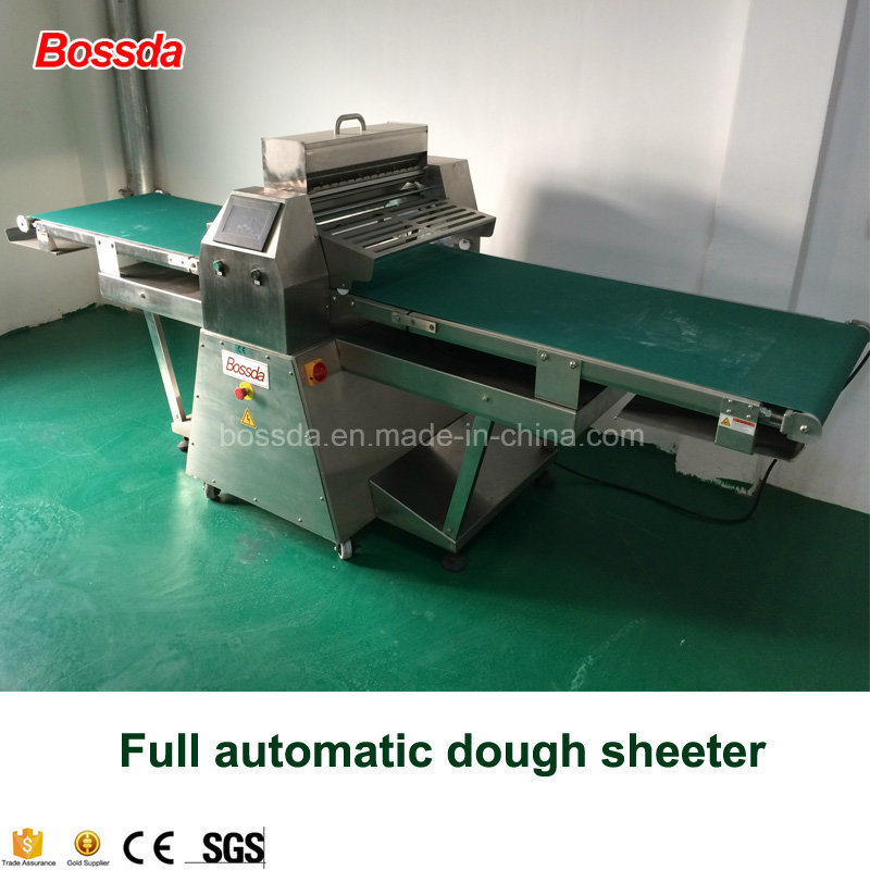 Full Automactic Dough Sheeter with Automatic Flour and Roll up Function 650z