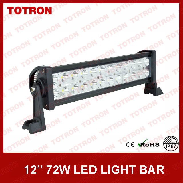 TLB2072 Double Rows LED Light Bar with 3W Epistar LEDs