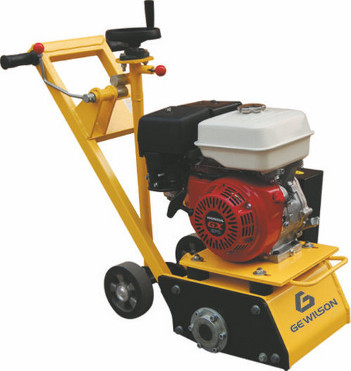 Gasoline Engine and Electric Motor Concrete Scarifying Machine