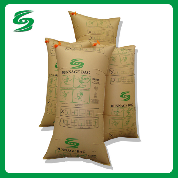 Leading Company of Packing Materials of Container Cushion Air Dunnage Bag