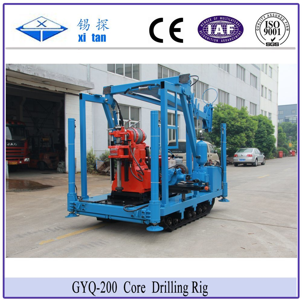 Xitan Gyq-200A Core Drilling Rig Soil Investigation Drilling Machine