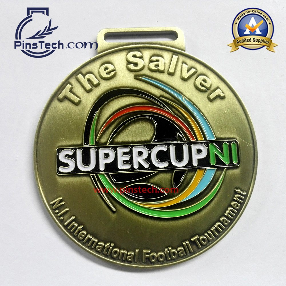 3D Die Cast Medal with Antique Bronze Finish