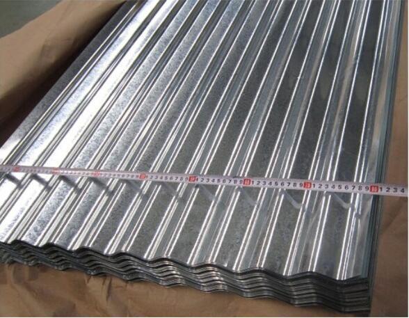 Zinc Steel Roofing Sheet / Corrugated Steel Sheet Price