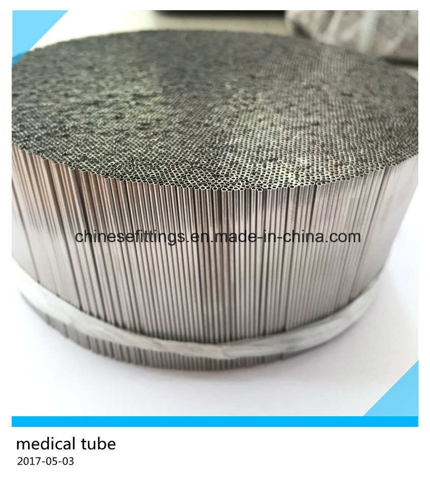 304 304L Seamless Stainless Steel Medical Pipe