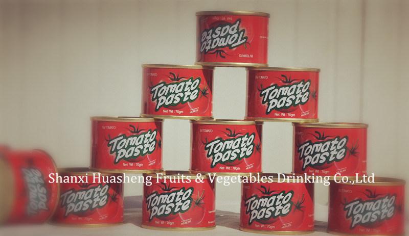 70g*50 28%-30% Tomato Paste 60%
