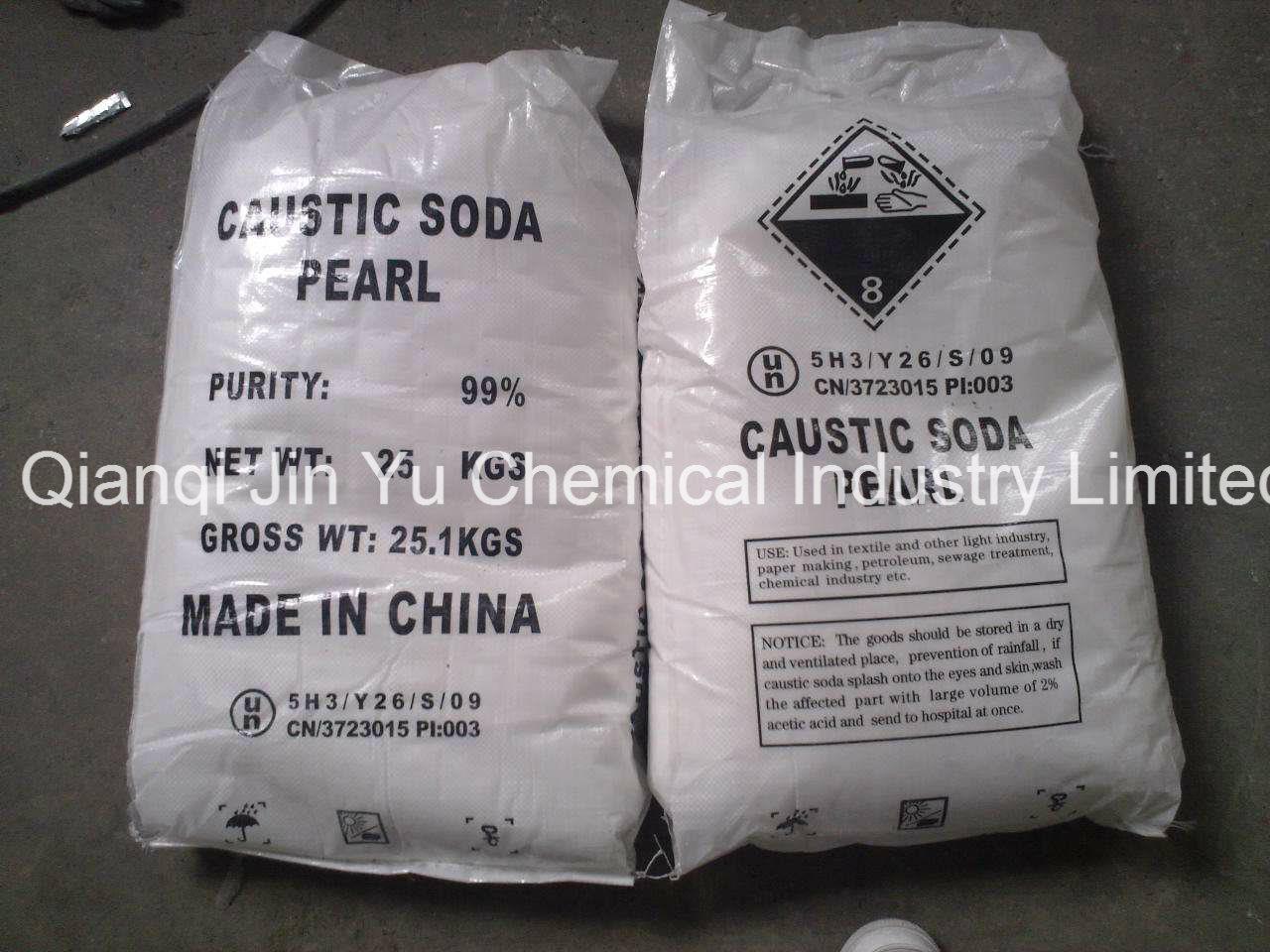 99% Caustic Soda Pearls - Industrial Grade