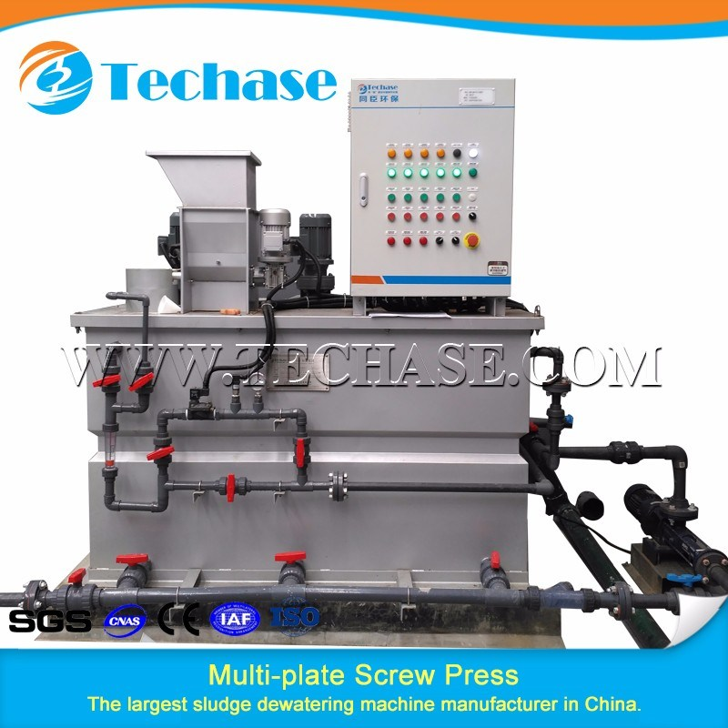 Polymer Dosing System for Dewatering Usage for Sewage Disposal Treatment Plant