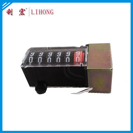 Electric Meter Counter, Digital Register of Power Meter (LHPS6H-02 black frame)